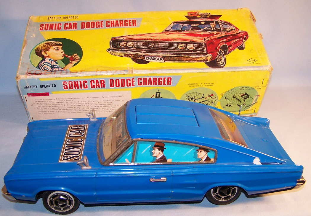 T-Nomura-753-Sonic-Car-Dodge-Charger-60er-Original-im