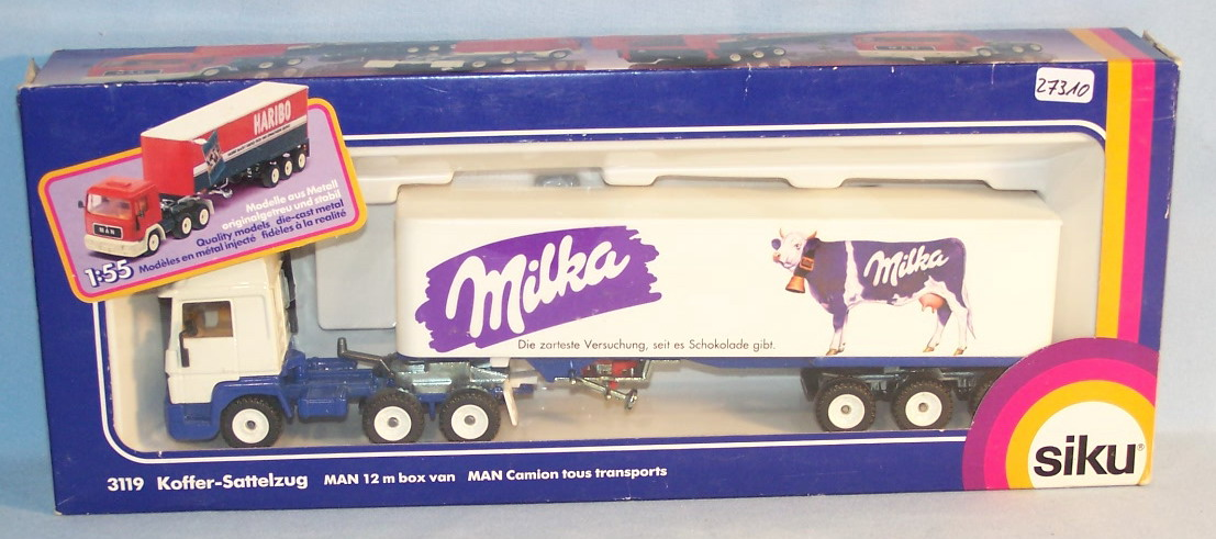 Milka Truck Spiel